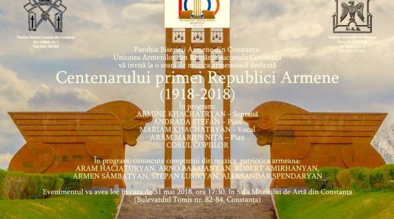 centenarul primei republici armene