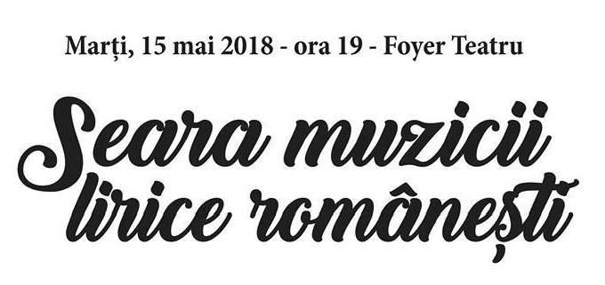 seara muzicii lirice romanesti
