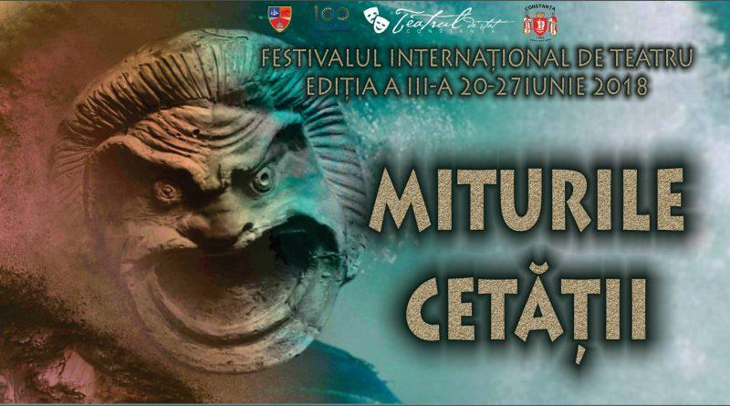 festival miturile cetatii CONSTANTA