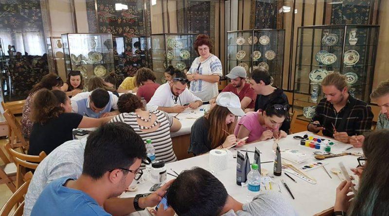studenti straini muzeul de arta populara constanta