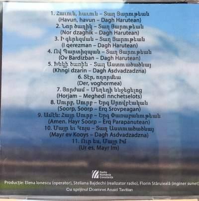 album muzica liturgica Armine Khachatryan