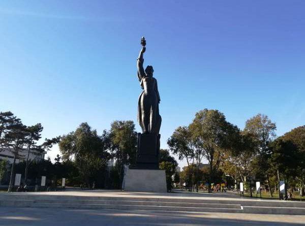 statuia victoria parcu arheologic constanta
