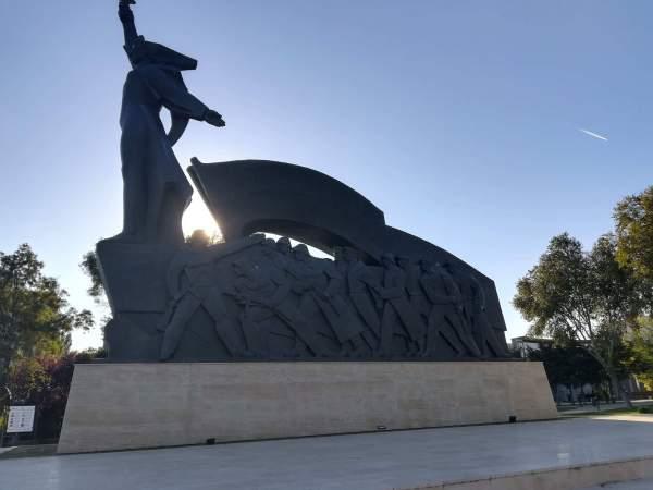 statuia victoria parcu arheologic constanta boris caragea