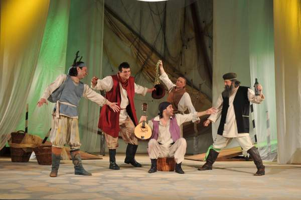 Galcevile din Chioggia Teatrul de Stat Constanta