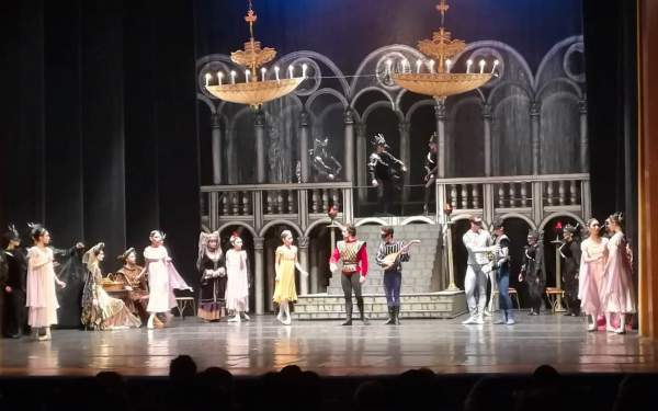 baletul romeo si julieta teatrul oleg danovski