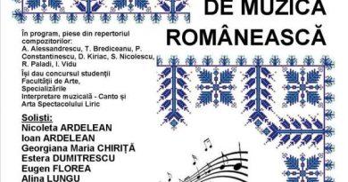 concert de muzica romaneasa universitatea ovidius