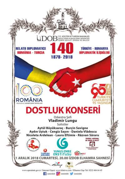 concertul prieteniei romano turce izmir