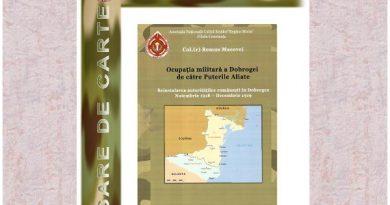 Ocupatia militara a Dobrogei de catre Puterile Aliate Remus Macovei coperta carte