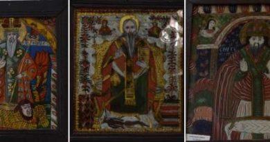 sfantul haralambie icoana sticla muzeul de arta populara constanta