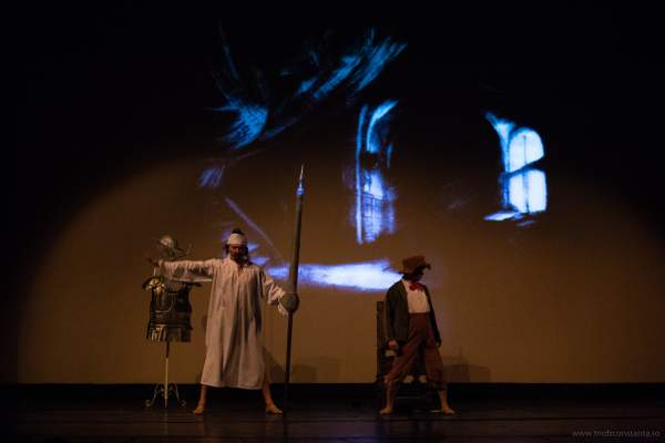 on Quijote teatrul Oleg Danovski