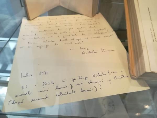scrisoare nichita stanescu biblioteca judeteana constanta