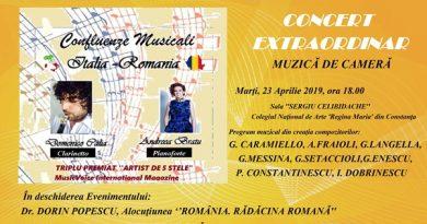 afis Confluenze Musicali Constanta