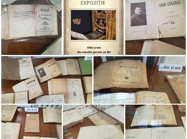 expozitie editii prime si autografe biblioteca judeteana constanta