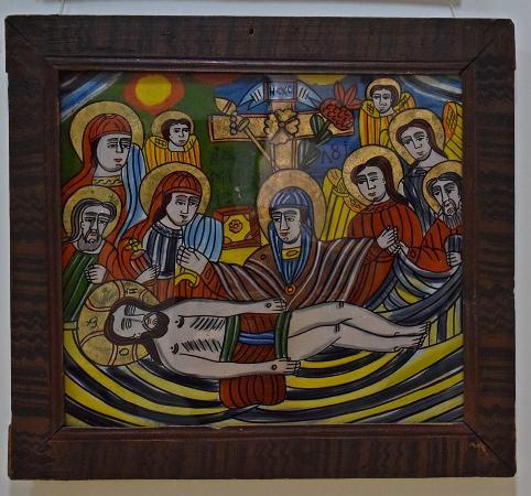 plangerea lui Iisus Scheii Brasovului muzeul de arta populara constanta