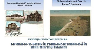 afis expozitie litoralul turistic in perioada interbelica in documente si imagini