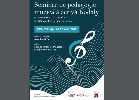 seminar pedagogie muzicala kodaly constanta