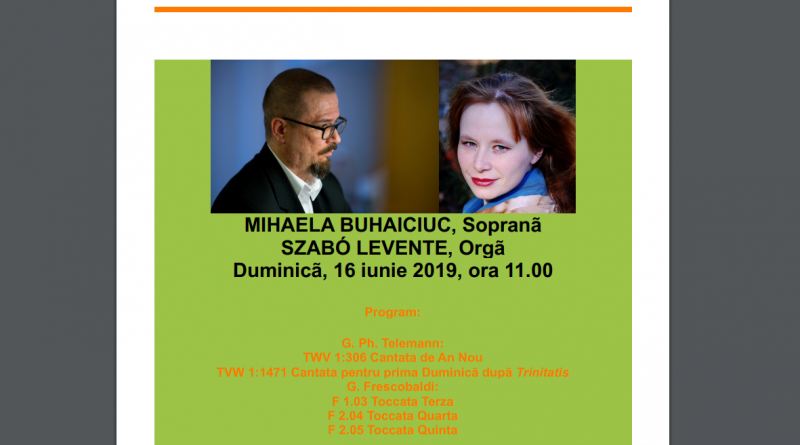 recital muzica sacra mihaela buhaiciuc szabo levente