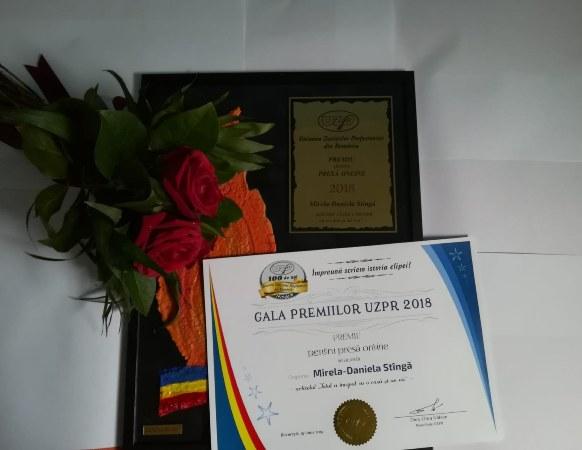 premiu UZPR Mirela Stinga