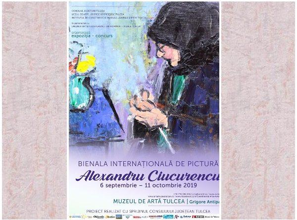 bienala de pictura alexandru ciucurencu afis