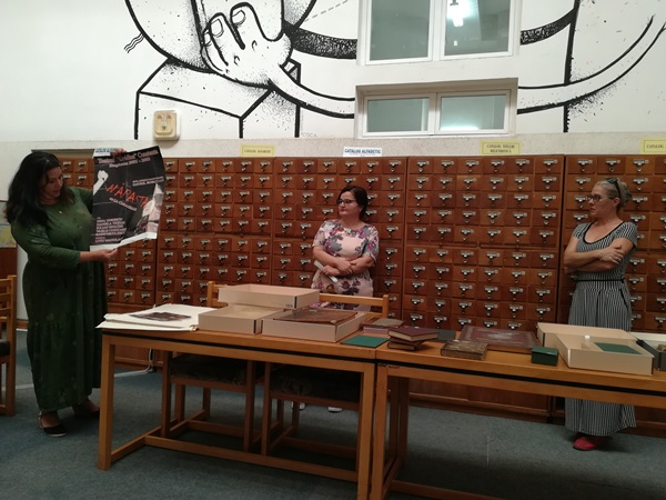zilele europene ale patrimoniului biblioteca judeteana constanta dana trifan enache