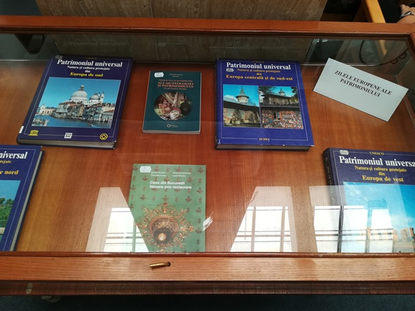 zilele europene ale patrimoniului biblioteca judeteana constanta expozitie