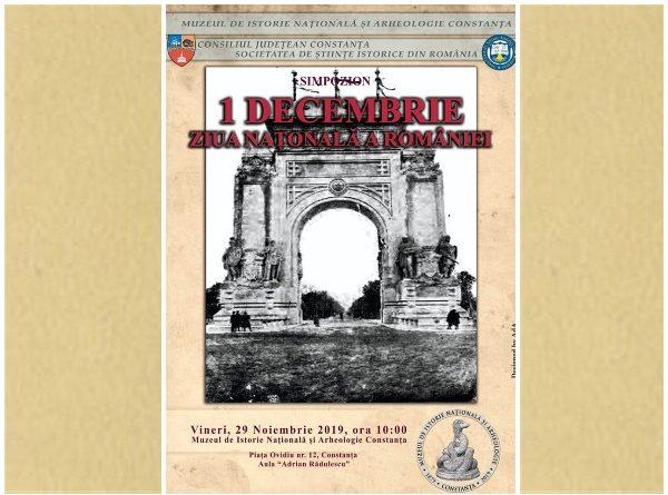 simpozion 1 decembrie muzeul de istorie constanta