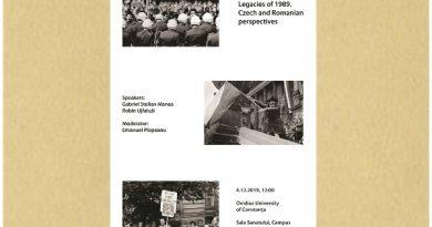 Dezbatere romano-ceha Universitatea Ovidius