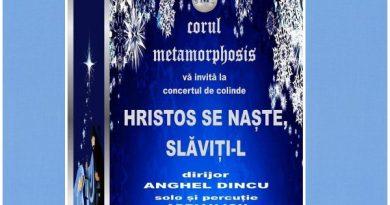 concert colinde corul metamorphosis constanta