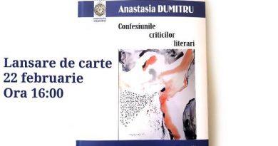 anastasia dumitru confesiunile criticilor literari