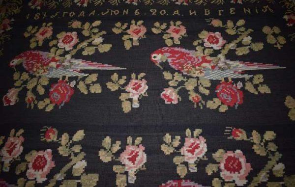 scoarta basarabia muzeul de arta populara constanta detaliu