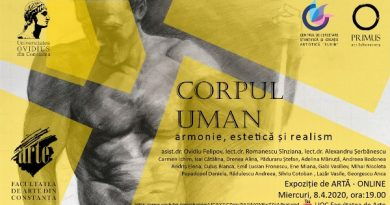 corpul uman afis expozitie