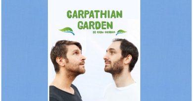 afis carpathian garden radu iacoban tudor aaron istodor