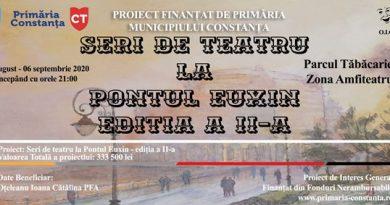 afis seri de teatru la pontul euxin 2020