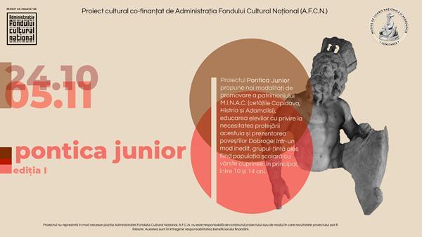 pontica junior 2020 afis