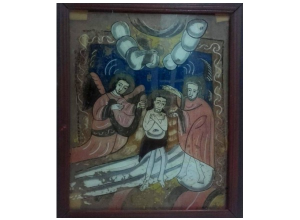botezul Domnului Nicula Muzeul de Arta Populara Constanta