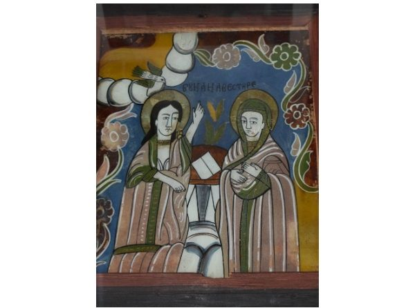 buna vestire icoana sticla muzeul de arta populara constanta