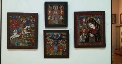 icoane pe sticla muzeul de arta populara constanta