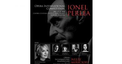 afis concurs Ionel Perlea 2021