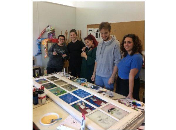 atelier pictura sticla lisabona Facultatea de Arte Ovidius Constanta