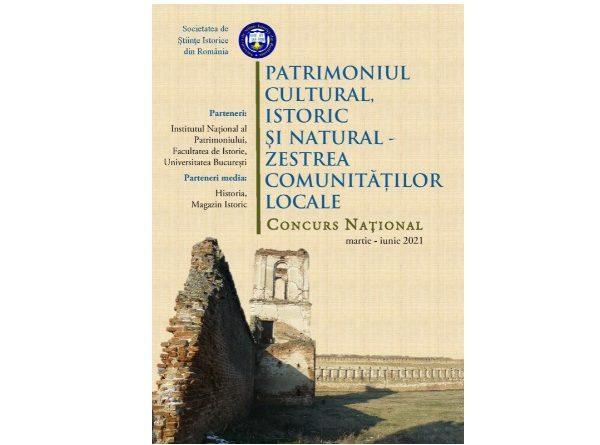 afis patrimoniul cultural, istoric si natural