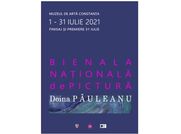 afis Bienala Nationala de Pictura Doina Pauleanu